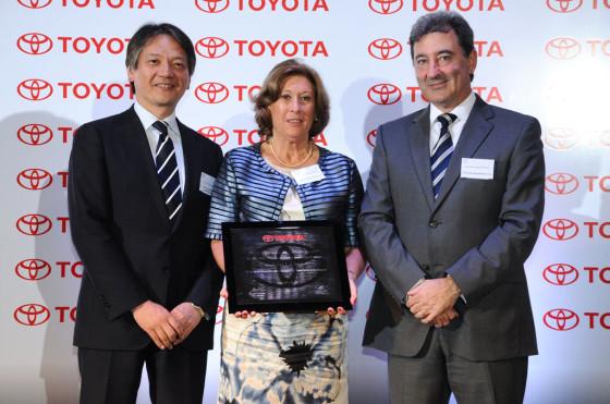 Industrias Guidi S.A. fue elegido como el mejor proveedor de 2012 por Toyota.