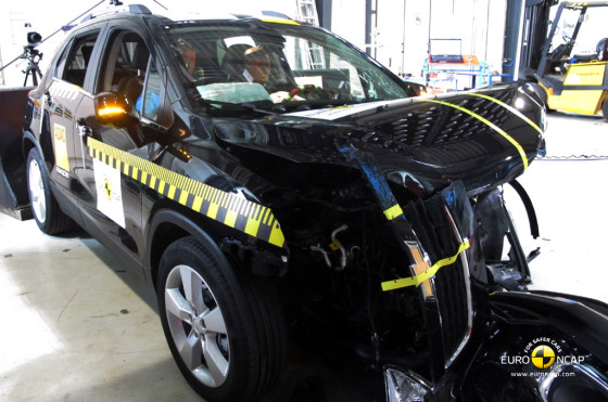 Chevrolet Tracker (Trax) consiguió las 5 estrellas EuroNCAP