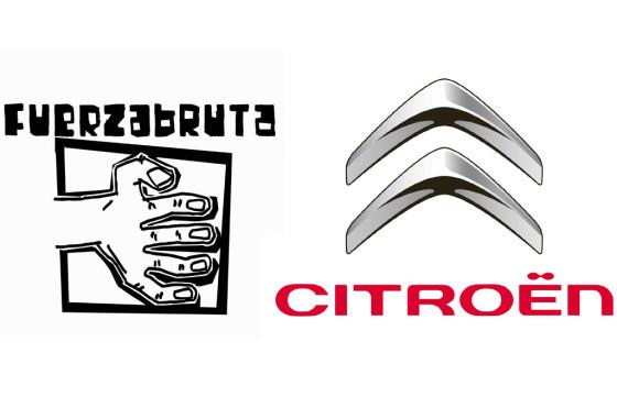 Argentina: Citroën acompaña como sponsor a Fuerza Bruta