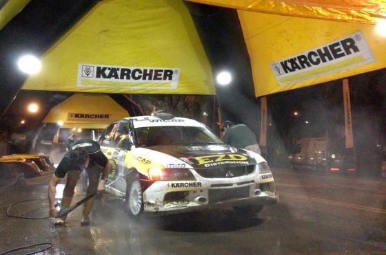 Juan Carlos Alonso pasó por la estación de lavado de Kärcher.