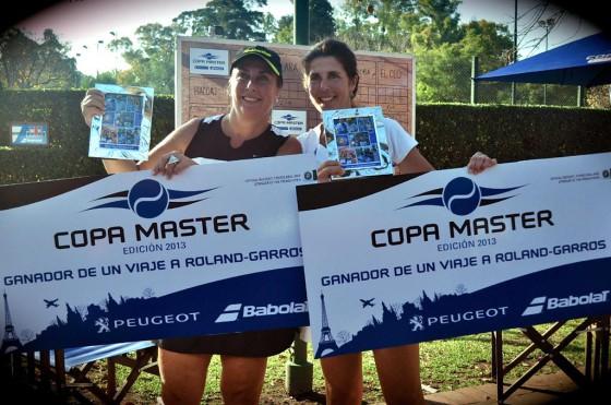 Los ganadores de la Copa Master Babolat Peugeot viajan a Roland Garros