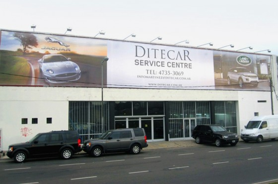 Ditecar Argentina inauguró un nuevo centro de servicios de Jaguar y Land Rover