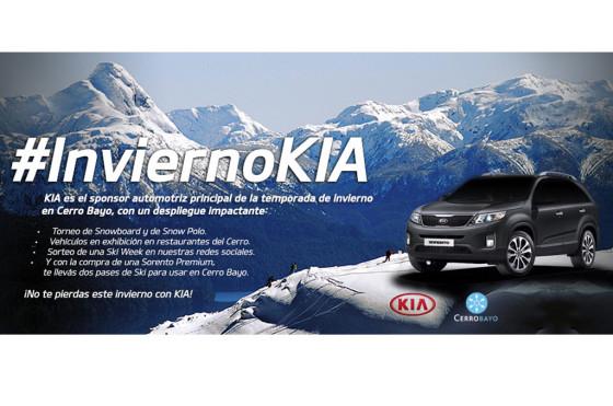 Invierno 2013: Kia Argentina, sponsor de múltiples atracciones en el Cerro Bayo