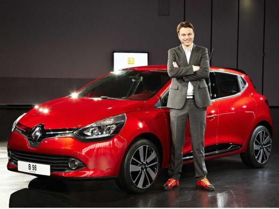 Laurens van den Acker, Director de Diseño de Renault.