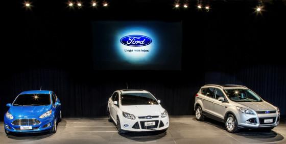 Nuevos Ford globales en Argentina