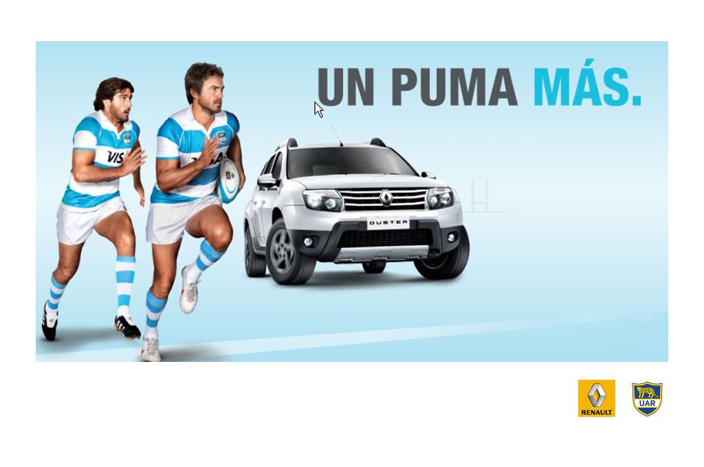 regular Deliberadamente Combatiente  Autos y rugby: Renault Argentina, nuevamente sponsor de Los Pumas
