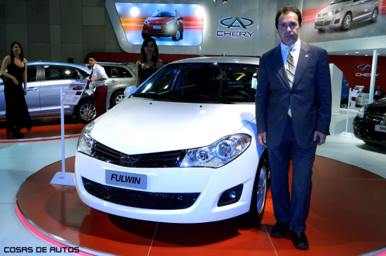 Diego Pizzichini, responsable de marketing de Chery Argentina.