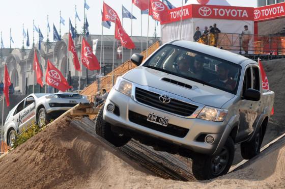 Toyota presente en La Rural