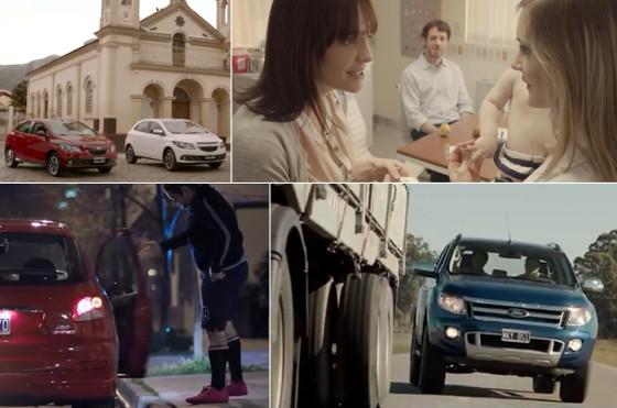 Publicidades de autos de julio 2013