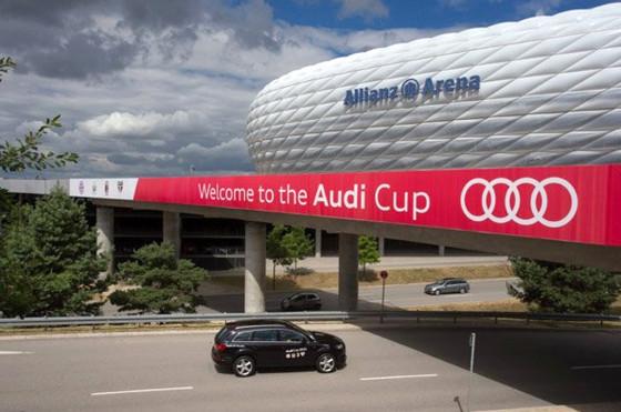 Autos y fútbol: Bayern Munich, campeón de la Audi Cup 2013