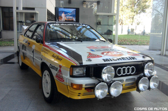A 30 años del éxito del Audi quattro en Argentina