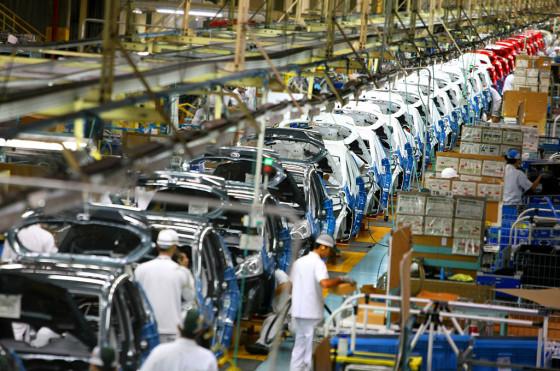 Fábrica de Honda en Sumaré