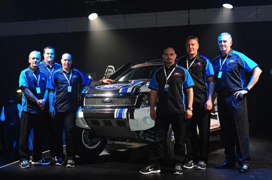 Ford participará del Dakar 2014 con una Ranger y Lucio Álvarez como piloto