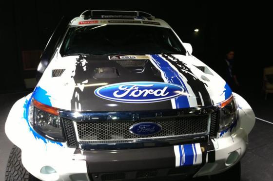 Ford participará del Dakar 2014 con una Ranger - Foto: Sitio Andino