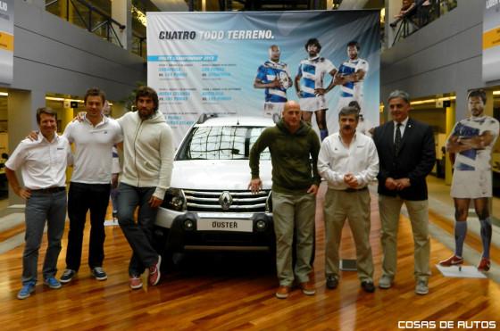 Renault Duster Los Pumas - Foto: Cosas de Autos
