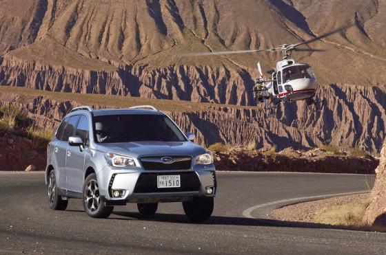 La Subaru New Forester en Jujuy