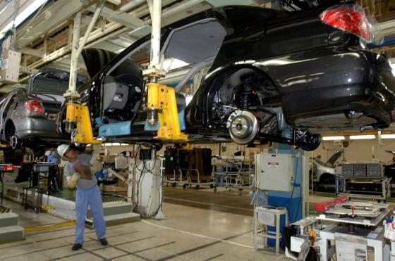 Producción del Corolla en Indaiatuba, Brasil.