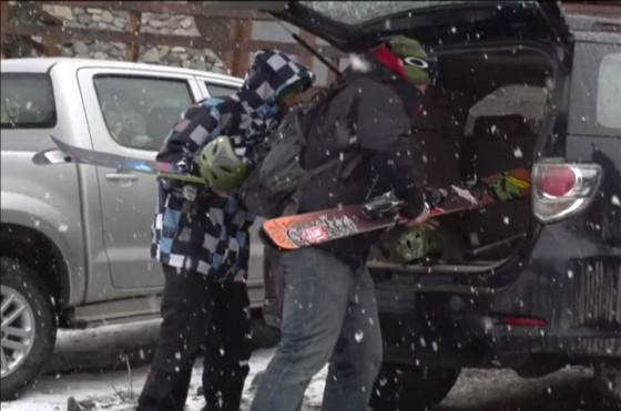 Toyota y Red Bull junto al mejor esquí fuera de pista en Bariloche