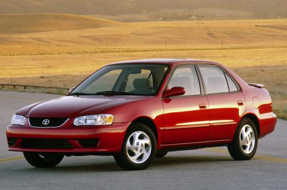 Toyota Corolla de 2001 para el mercado norteamericano.