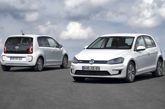 VW e-UP! y VW e-Golf