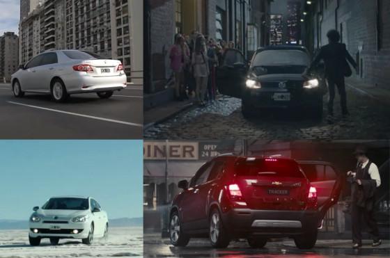 Publicidades de autos en Argentina
