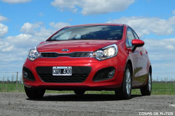 Test del Kia Rio - Foto: Cosas de Autos