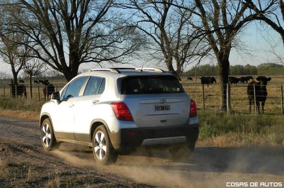 Test de la Chevrolet Tracker - Foto: Cosas de Autos