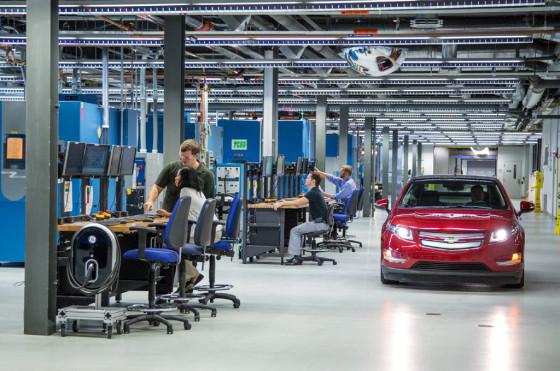 Laboratorio Mundial de Sistemas de Batería de GM, en Michigan.