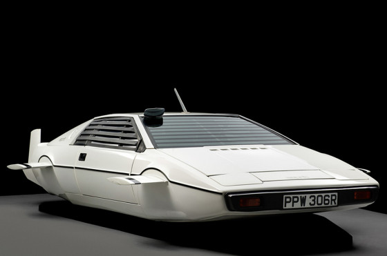 El Lotus Esprit de James Bond en The Spy Who Loved Me