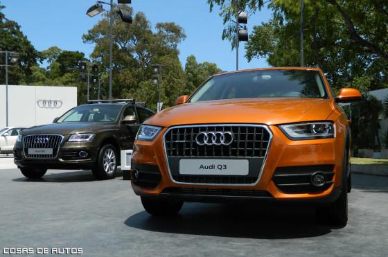 Stand de Audi en Pinamar.