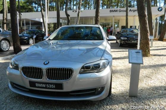 Stand de BMW en Pinamar.