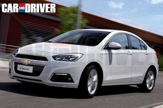 Así sería el Nuevo Cruze según Car and Driver Brasil.