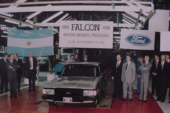 Adiós a un ícono de la industria nacional, el Falcon.