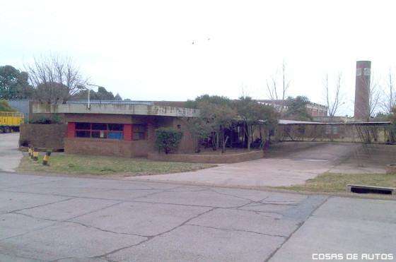 Vista de la ex BIC, en el Parque Industrial Gualeguaychú. Foto: RR