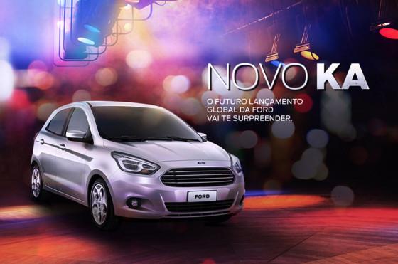Novo Ford Ka