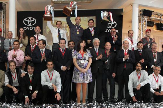 Posventa: Toyota Argentina premió a los mejores prestadores de su red de concesionarios