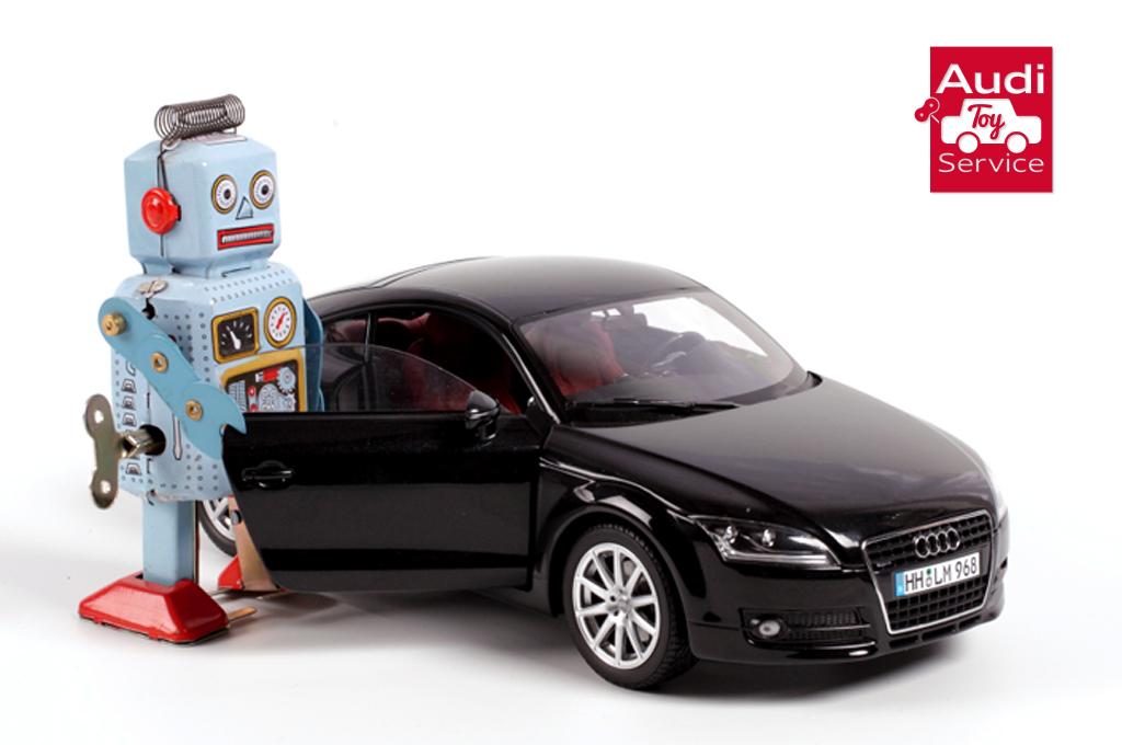 En espa a se lanz el audi toy service un servicio de - Cars en juguetes ...