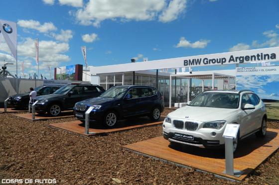Stand de BMW en ExpoAgro 2013