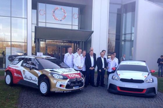 Pechito López es piloto oficial Citroën en WTCC