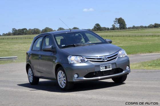 Test del Toyota Etios - Foto: Cosas de Autos