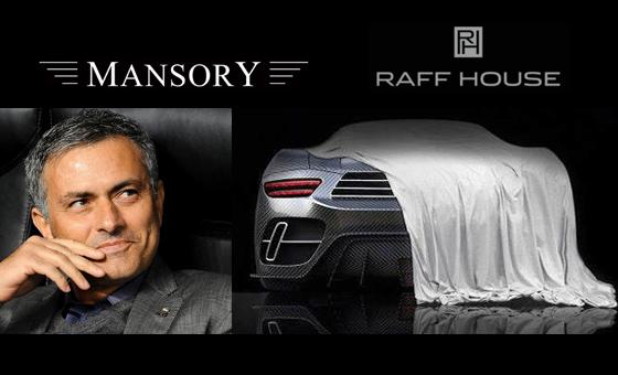 Mourinho tendrá un auto hecho por Mansory y Raff House