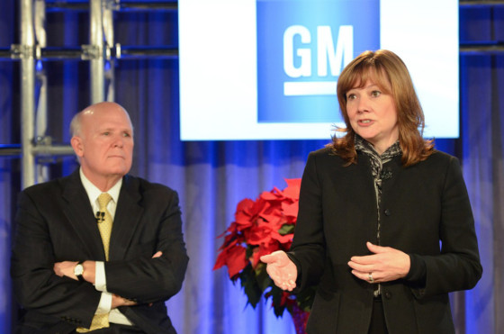 Mary Barra, Nueva CEO de GM