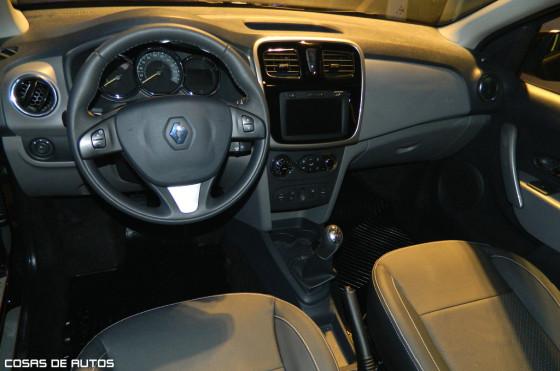 Interior del Nuevo Renault Logan