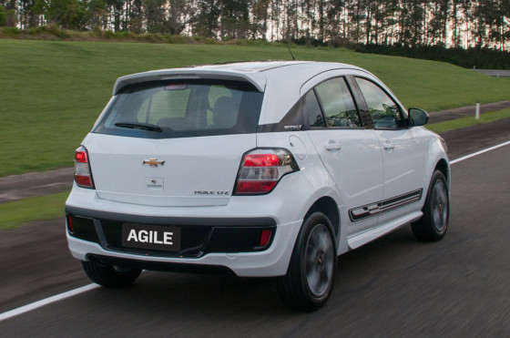 Chevrolet Agile Effect