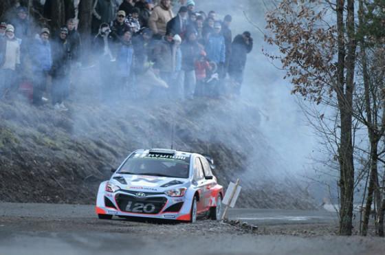 Rally: el equipo Hyundai-Shell debuta en el Campeonato Mundial en Montecarlo
