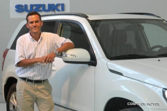 Sebastián Dañil, gerente general de Suzuki Argentina.