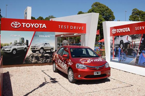 Verano 2014: Toyota está en Pinamar, Mar del Plata y Carlos Paz