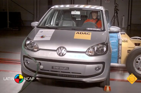 Volkswagen up! testeado por Latin NCAP