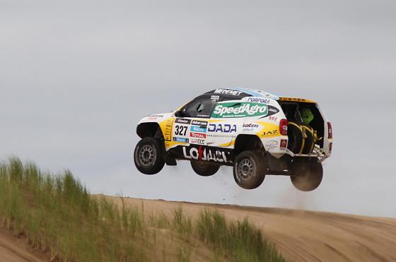 Renault Duster Dakar Team en Pinamar