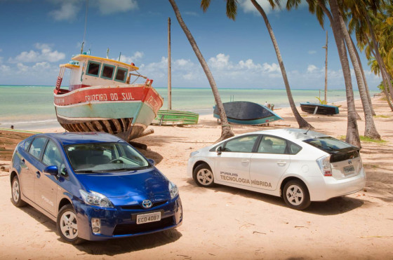Brasil a punto de aprobar incentivo para autos verdes; Toyota armaría el Prius en San Pablo